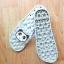 K020-GY **พร้อมส่ง** (ปลีก+ส่ง) รองเท้านวดสปา เพื่อสุขภาพ ปุ่มใหญ่สลับเล็ก (การ์ตูน) สีเทา ส่งคู่ละ 150 บ. thumbnail 6