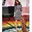 ชุดเดรส ผ้าคอตตอนผสม ลายกราฟฟิกสีตามแบบ แขนยาว ทรงตรง เข้ารูปช่วงเอว มาพร้อมเข็มขัด สีครีม thumbnail 5