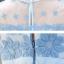 ชุดเดรสผ้าไหมแก้ว organza เนื้อเงามัน ปักด้วยด้ายลายดอกไม้สีฟ้า thumbnail 5