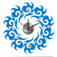 นาฬิกาสติกเกอร์ รุ่น10A103 thumbnail 1