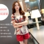 แฟชั่นเกาหลี set เสื้อและกางเกงขาสั้น สวยน่ารักมากๆ thumbnail 1