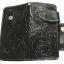 กระเป๋าสตางค์ยาว หนังวัวแท้ เกรด A สีดำ Styles Cow Boy thumbnail 3