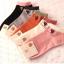 เซตถุงเท้าข้อสั้นลายแมวน้อย คละสี 5 คู่ 180 บาท thumbnail 1