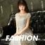 ชุดราตรียาว ออกงานสุดหรูสวยสุดๆ ตัวเสื้อเป็นผ้ามุ้งปักลายดอกไม้สีเทา thumbnail 6