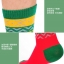 S374**พร้อมส่ง** (ปลีก+ส่ง) ถุงเท้าแฟชั่นเกาหลี ชาย ข้อยาว เนื้อดี งานนำเข้า(Made in china) thumbnail 9