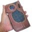 กระเป๋าสตางค์ยาว หนังวัวแท้ ลายสาน thumbnail 1