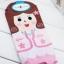 A026 **พร้อมส่ง**(ปลีก+ส่ง) ถุงเท้าแฟชั่นเกาหลี ลายมือ 3 มิติ มี 6 แบบ เนื้อดี งานนำเข้า( Made in Korea) thumbnail 6