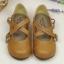 [พร้อมส่ง ] & Pre-Ordr รองเท้าตุ๊กตา-สีน้ำตาล thumbnail 1