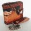 กระเป๋าสตางค์พร้อมโซ่ แบบ 2 พับ Line id : 0853457150 thumbnail 1