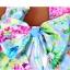 ชุดว่ายน้ำวันพีช โทนสีฟ้า ลายดอกไม้สวยสดใส หวานปนเซ็กซี่ thumbnail 11
