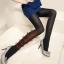 ถุงน่องขาเรียวกระชับต้นขา ขจัดไขมันส่วนเกินสะสม ความหนา 480D ขนาดฟรีไซต์ M-L thumbnail 15