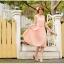 ชุดเดรส Brand YOCO นำเข้าของแท้ 100% ชุดเดรสผ้าชีฟอง+ลูกไม้อย่างดี สีชมพูหวานๆ น่ารักมากๆ (พร้อมส่ง) thumbnail 4