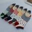 S347 **พร้อมส่ง** (ปลีก+ส่ง) ถุงเท้าแฟชั่นเกาหลี ข้อสั้น คละ 5 สี มี 12 คู่/แพ็ค เนื้อดี งานนำเข้า(Made in China) thumbnail 1