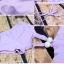 ชุดว่ายน้ำทูพีช สีม่วง สดใสน่ารักมากๆ มีกางเกงขาสั้นแยกให้ thumbnail 5