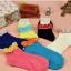 [ของหมด] ถุงเท้าเกาหลีข้อสั้นมีระบาย thumbnail 10