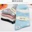 S340 **พร้อมส่ง** (ปลีก+ส่ง) ถุงเท้าแฟชั่นเกาหลี ข้อยาว คละ 5 สี มี 10 คู่/แพ็ค เนื้อดี งานนำเข้า(Made in China) thumbnail 6