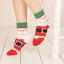 ถุงเท้าน่ารักลายลุงแซนต้า-ขอบเขียว thumbnail 1