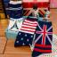 [เซต3คู่] ถุงเท้าลายธงชาติ ขนาดเท้าใส่ได้ทั้งชายและหญิง thumbnail 7