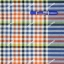 ผ้าขาวม้า TK099 น้ำเงินส้ม (กว้าง 90ซม) thumbnail 1