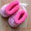 U015**พร้อมส่ง** (ปลีก+ส่ง) ถุงเท้ากึ่งรองเท้า สำหรับวัยหัดเดิน (1-2 ปี) ผูกเชือก พื้นยางอย่างดี กันลื่น งานนำเข้า ( Made in China) thumbnail 3