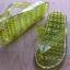 K013-DGR **พร้อมส่ง** (ปลีก+ส่ง) รองเท้านวดสปา เพื่อสุขภาพ ปุ่มเล็ก (ใส) หูหนีบ สีเขียวขี้ม้า ส่งคู่ละ 80 บ. thumbnail 5