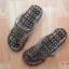 K013-BK **พร้อมส่ง** (ปลีก+ส่ง) รองเท้านวดสปา เพื่อสุขภาพ ปุ่มเล็ก (ใส) หูหนีบ สีดำ ส่งคู่ละ 80 บ. thumbnail 5