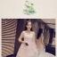 ชุดเดรสสีชมพู ผ้าโปร่งเนื้อละเอียด ปักด้วยด้ายลายดอกไม้ thumbnail 6