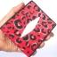 กระเป๋าสตางค์หนังปลากระเบนแท้ ลายเสือ สีแดง สวยงาม หรูหรา Line id : 0853457150 thumbnail 2