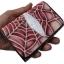 กระเป๋าปลากระเบน 3 พับ ใบเล็ก ลายใยแมงมุง thumbnail 3