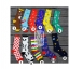 S250**พร้อมส่ง** (ปลีก+ส่ง) ถุงเท้าแฟชั่นเกาหลี ข้อยาว คละ 8 ลาย มี 12 คู่ต่อแพ็ค เนื้อดี งานนำเข้า(Made in China) thumbnail 3