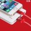 สายชาร์จ iPhone 5/6 Golf Silk Screen Cable GF-02i ลดเหลือ 85 บาท ปกติ 220 บาท thumbnail 9