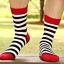ถุงเท้าแฟร์ชั่นลายขวาง thumbnail 1