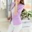 เสื้อสูทแฟชั่น พร้อมส่ง แขนยาว เข้ารูป สีม่วง คอจีนเก๋ งานสวยดีไซน์เก๋มากๆ ครับ thumbnail 4