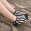 S566 **พร้อมส่ง** (ปลีก+ส่ง) ถุงเท้าแฟชั่น ข้อตาตุ่ม คละ5 สี มี 10 คู่ต่อแพ็ค เนื้อดี งานนำเข้า thumbnail 11