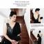 ชุดราตรียาว แขนกุด Brand Luyangel แบรนด์แท้เกาหลี คอวี สีดำ ด้านหลังผ่าลึกรูปตัววี โชว์แผ่นหลัง สวยดูมีสเน่ห์มากๆ ครับ thumbnail 2