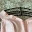 ชุดราตรีสั้นสุดหรู ตัวชุดเป็นผ้าลูกไม้ลายเส้นสีชมพูโอรส ดีไซน์เปิดไหล่ ปิดต้นแขน thumbnail 7