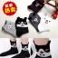A041**พร้อมส่ง**(ปลีก+ส่ง) ถุงเท้าแฟชั่นเกาหลี ข้อสูง มีหู มี 5 แบบ เนื้อดี งานนำเข้า( Made in Korea) thumbnail 1
