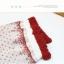 S360**พร้อมส่ง** (ปลีก+ส่ง) ถุงเท้าแฟชั่นเกาหลี ข้อยาว คละ 5 สี มี 12 คู่ต่อแพ็ค เนื้อดี งานนำเข้า(Made in China) thumbnail 10