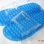 K021-BL**พร้อมส่ง** (ปลีก+ส่ง) รองเท้านวดสปา เพื่อสุขภาพ สีน้ำเงิน ปุ่มเล็ก(ใส)แบบนิ่ม ส่งคู่ละ 120 บ. thumbnail 5
