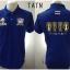 เสื้อโปโล ทีมชาติไทย ลาย ราชา AEC สีน้ำเงิน TTAN thumbnail 1