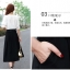 แฟชั่นเกาหลี set เสื้อ กระโปรง พร้อมเข็มขัดหนังสีดำ เหมือนแบบ thumbnail 7