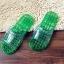 K012 **พร้อมส่ง** (ปลีก+ส่ง) รองเท้านวดสปา เพื่อสุขภาพ ปุ่มเล็ก (ใส) มี 7 สี ส่งคู่ละ 80 บ. thumbnail 25