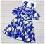ชุดว่ายน้ำวันพีช ลายกราฟฟิก สีน้ำเงิน ดีไซน์เก๋ ใส่ได้ 2 แบบ thumbnail 6