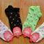 S145 **พร้อมส่ง** (ปลีก+ส่ง) ถุงเท้าแฟชั่นเกาหลี ข้อสั้น เนื้อดี งานนำเข้า(Made in China) thumbnail 1