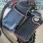 ซองหนังใส่กระเป๋าหนังแท้ ซองสีดำเงา thumbnail 3