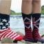 ถุงเท้าแฟร์ชั่นลายธงขาติ thumbnail 5