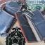 ซองหนังใส่กระเป๋าหนังแท้ + กระเป๋า ซองสีดำเงา thumbnail 6