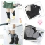 U019**พร้อมส่ง** (ปลีก+ส่ง) ถุงเท้า แฟชั่นเด็กหญิง (4-8 ปี) ข้อยาวคลุมเข่า เนื้อดี งานนำเข้า ( Made in China) thumbnail 3