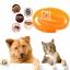 dooda ปลอกคอ สุนัข แมว ไล่เห็บ หมัด ไร และยุง สีส้ม