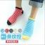 S357 **พร้อมส่ง** (ปลีก+ส่ง) ถุงเท้าแฟชั่นเกาหลี ข้อสั้น ชาย คละ 5 สี มี 10 คู่ต่อแพ็ค เนื้อดี งานนำเข้า(Made in China) thumbnail 1